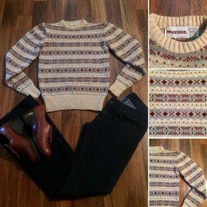 New Listing! Vintage 70s McGregor Wool Sweater